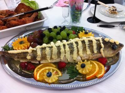 ryba z majonezem